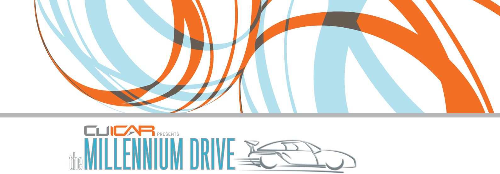 Car Cruise Millennium Drive Banner