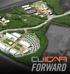Master plan architecture CU-ICAR Automotive Campus